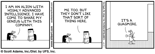 Dilbert on Linux