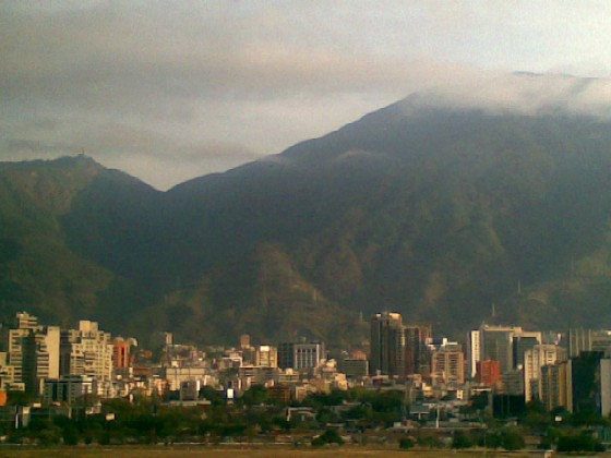 Caracas from the EuroBuilding hotel