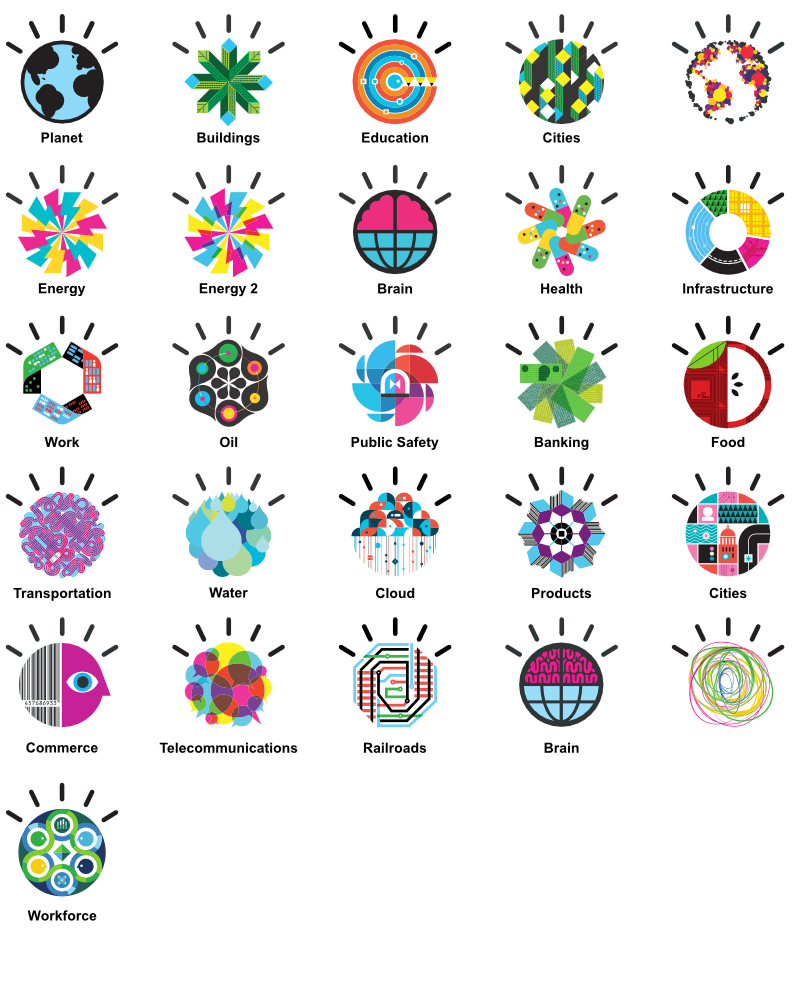 Smarter Planet icons thumbnails