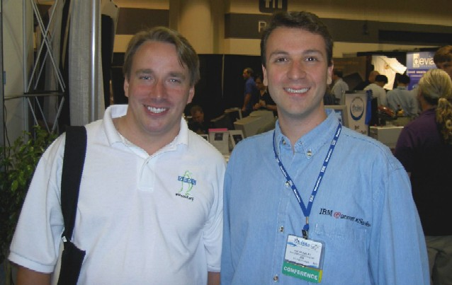 Linus Torvalds and me